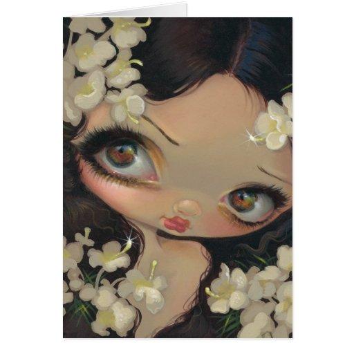 """Poisonous Beauties VII: Hemlock"" Greeting Card"