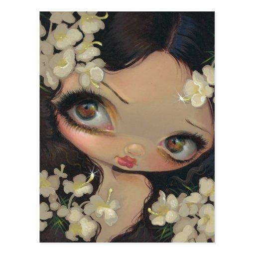 """Poisonous Beauties VII: Hemlock"" Postcard"