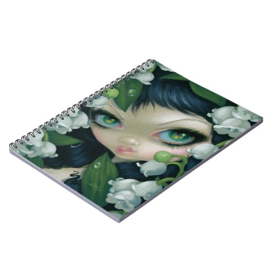 Poisonous Beauties XI: Lily of the Valley Notebook