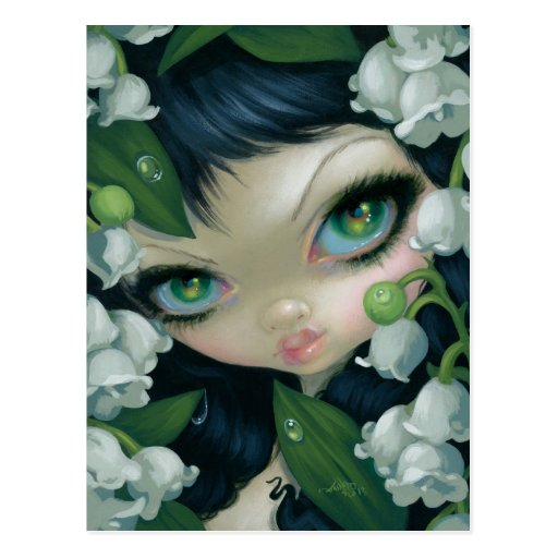 Poisonous Beauties XI: Lily of the Valley Postcard