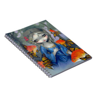 """""""Poissons Volants: Les Poissons Rouges"""" Notebook"""