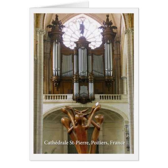 Poitiers Cathedral Card