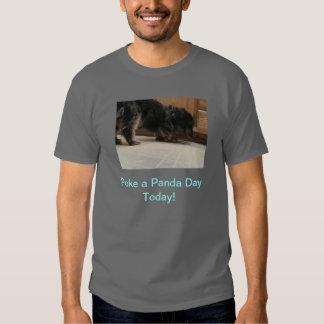 Poke A Panda Day T-shirt