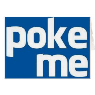 Poke Me Card