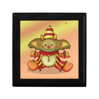 """POKEE TOY CARTOON Wooden Jewelry Small 5.125"""" Gift Box"""