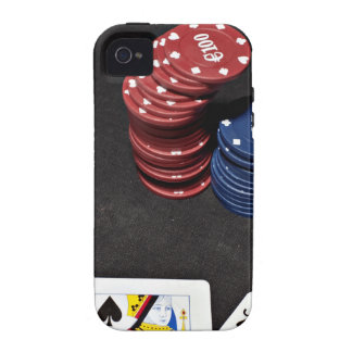 Poker ace bet good hand Case-Mate iPhone 4 covers