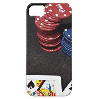 Poker ace bet good hand iPhone 5 cases