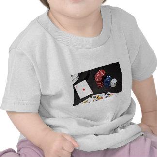 Poker ace bet good hand tee shirt