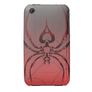 poker ace of spades spider phone case iPhone 3 Case-Mate case
