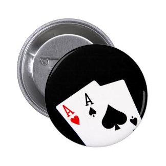 Poker Aces Button