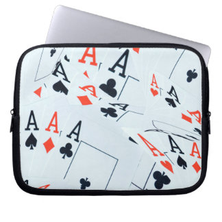 Poker,_Aces,_Cards,_10_inch_Laptop_Sleeve. Laptop Sleeve