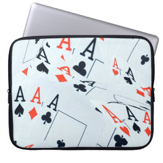 Poker,_Aces,_Cards,_15_inch_Laptop_Sleeve. Laptop Sleeve