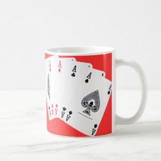 Poker aces ... English tea mug