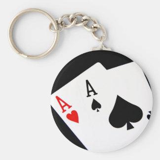 Poker Aces Keychain
