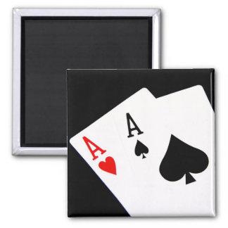 Poker Aces Magnet
