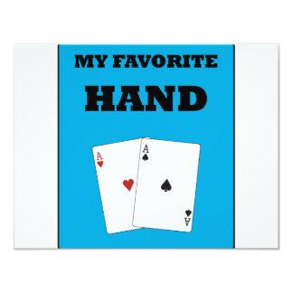 Poker Addict 11 Cm X 14 Cm Invitation Card