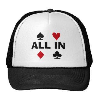 Poker Addict Trucker Hats