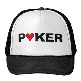 Poker Addict Mesh Hats