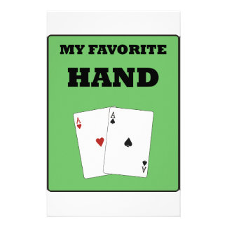 Poker Addict Custom Stationery