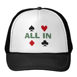 Poker Addict Mesh Hats