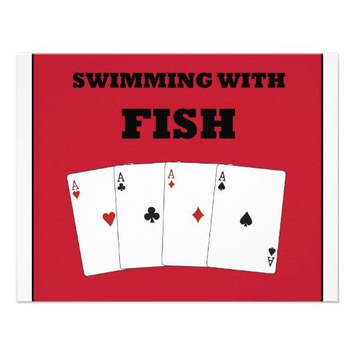 Poker Addict Personalized Invitation