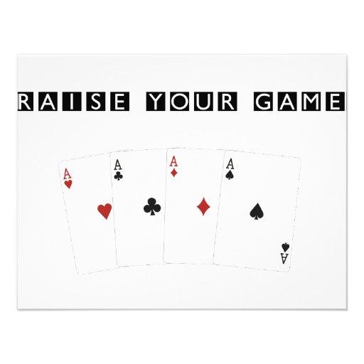 Poker Addict Custom Announcements