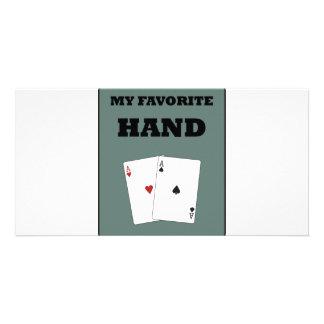 Poker Addict Photo Card Template