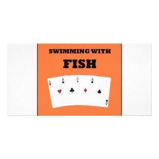 Poker Addict Photo Cards
