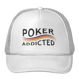 POKER addicted Trucker Hat