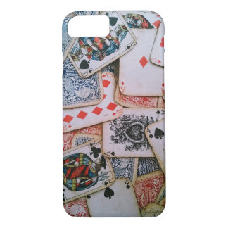 """Poker"" Apple iPhone 7, Barely There Phone Case"