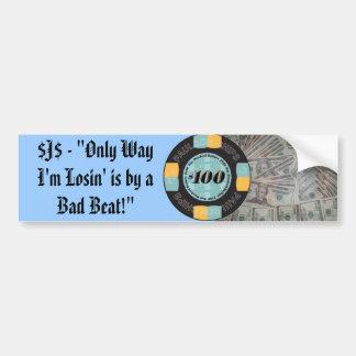 Poker Bumper Sticker