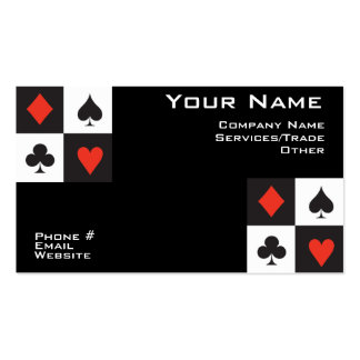 Poker Business card
