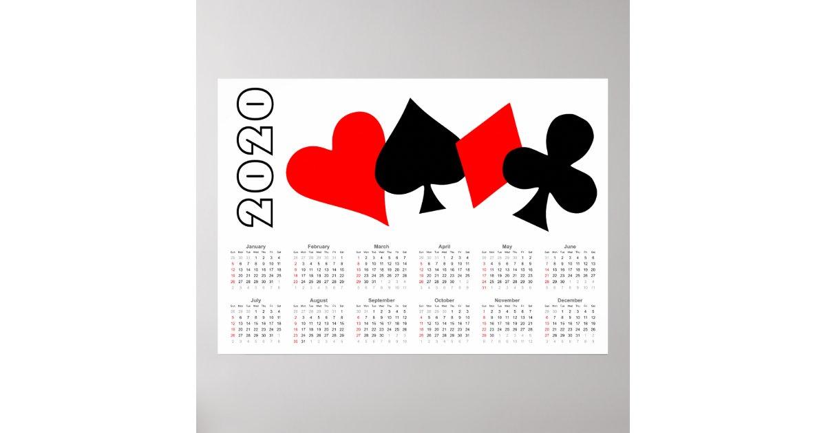 Olg Poker Calendar