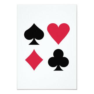 Poker card deck colors custom announcement