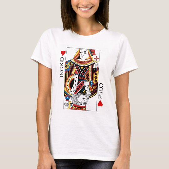 Poker Card Queen & King of Hearts Wedding