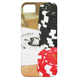 Poker Cards Aces Chips Gambling Casino Win Game iPhone 5 Cover
