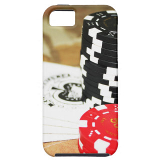 Poker Cards Aces Chips Gambling Casino Win Game iPhone 5 Covers