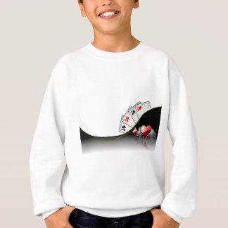 Poker cards and casino symbols tshirts