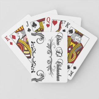 Poker Cards Chico El Chihuahua Script Design