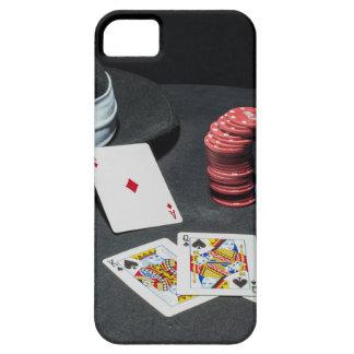 Poker cards gangster hat iPhone 5 case