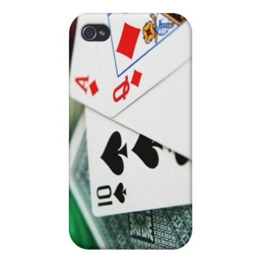 Poker Cards iPhone 4/4S Case