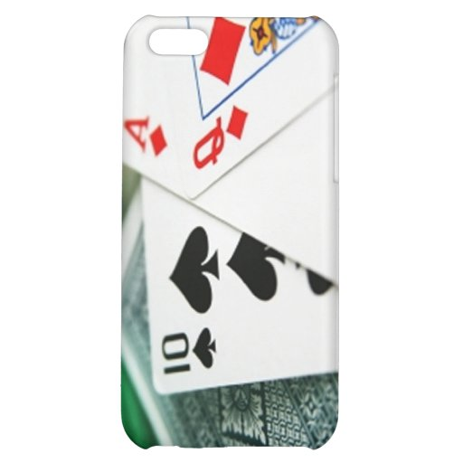 Poker Cards Cover For iPhone 5C