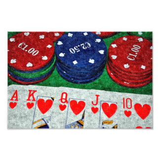 POKER CARDS PHOTO