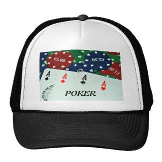POKER CARDS PHOTOS TRUCKER HATS