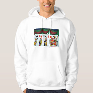 POKER CARDS PHOTOS HOODIE