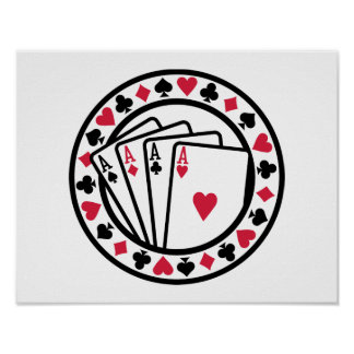 Poker cards print