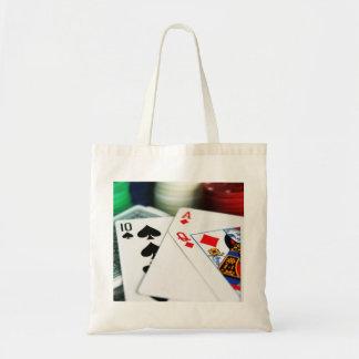Poker Cards Tote Bag