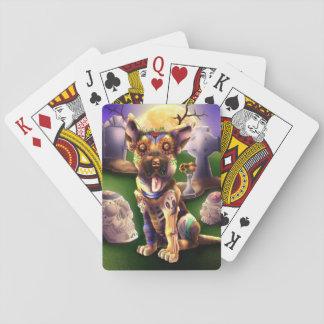 Poker Cards Wolfgang The pup German Sheperd