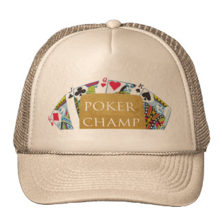 POKER Champion - Art101 Hat