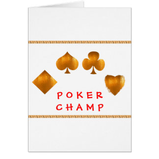 POKER Champion Giveaway Gifts Cards